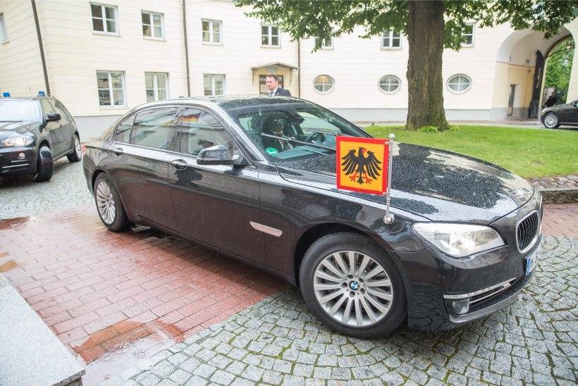 GALERII   Saksamaa president kohtus Eesti peaministriga