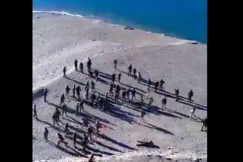 VIDEO   Hiina ja India sõdurid läksid kivisõjas kähmlema