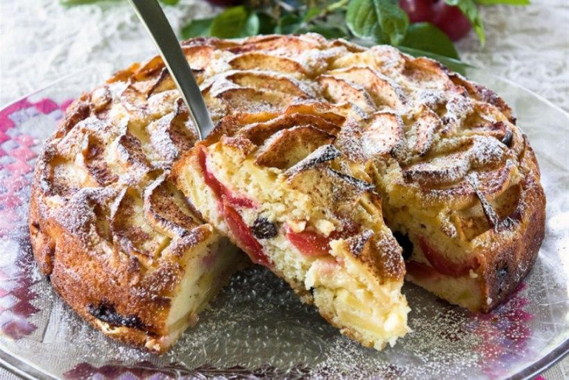 Vanaema ploomi-õunakook