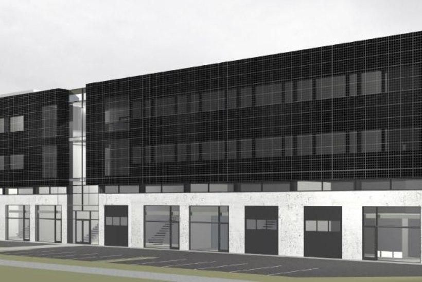 Pärnu 2,4-miljonise Waldhofi Ärihoone ehitus algab sügisel