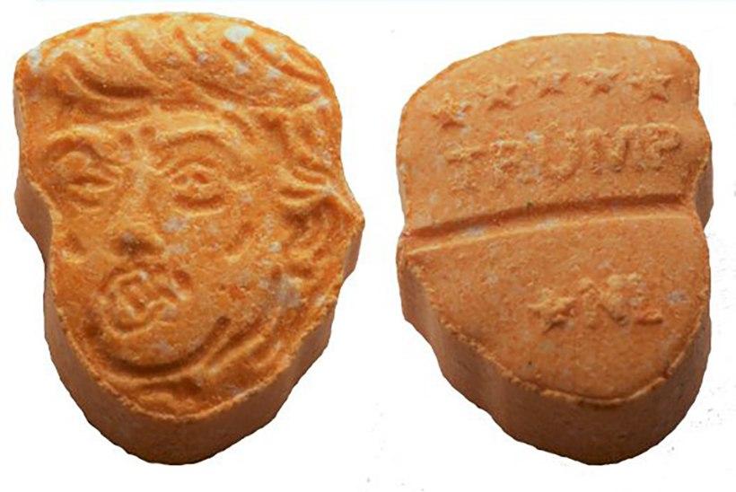 Saksamaal leidis narkopolitsei Trumpi näoga ecstasy-tabletid