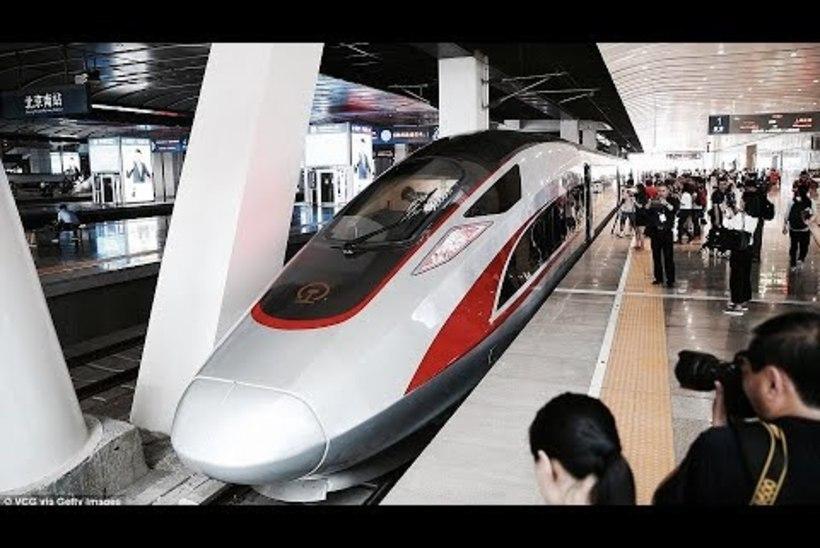 Maailma kiireim rong sõidab jälle