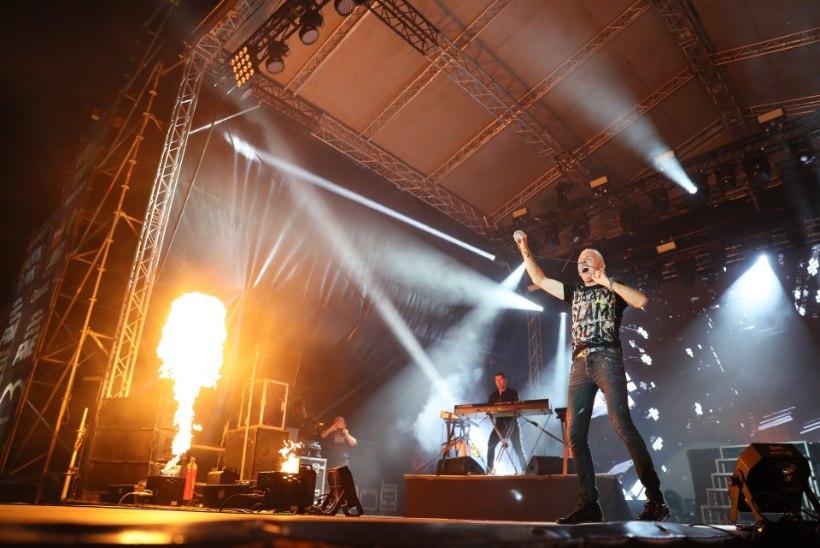 GALERII | Tantsumuusika lipulaev Scooter andis Tallinna lauluväljakul võimsa kontserdi