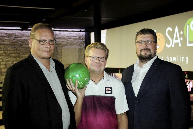 PILDID JA VIDEO | Mere puiestee Kuulsaali pidulik taasavamine, kohal oli bowlingu maailmameister Kimmo Lehtonen