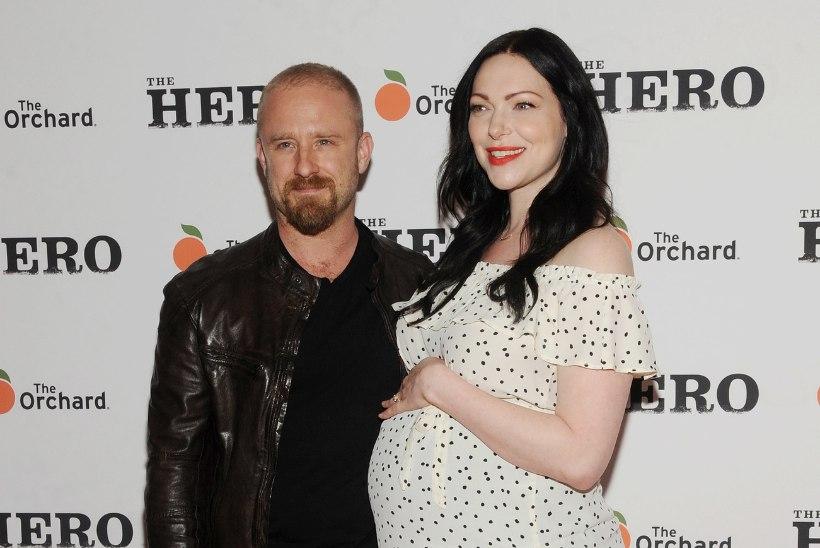 Ben Foster ja Laura Prepon said lapsevanemateks