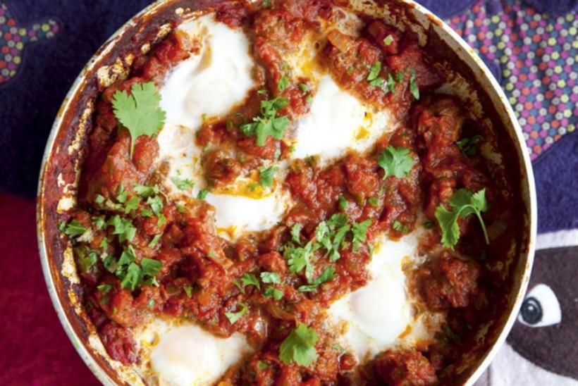 Kefta Mkaouara ehk lihapallid vürtsikas tomatikastmes
