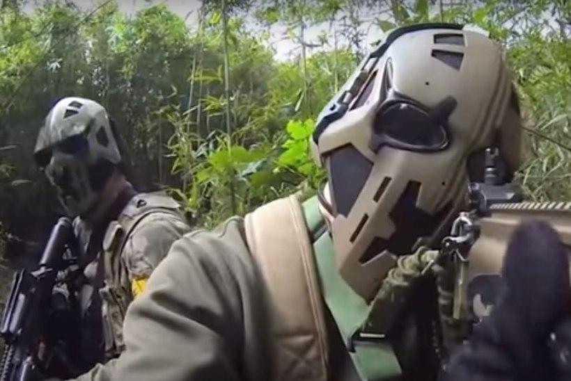Darth Vader on naasnud – Briti armee erijõud testivad ulmelist kuulikindlat maski