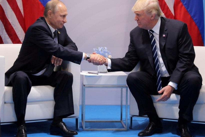 UURIMINE JÄTKUB: keegi üritas Putinit ja Trumpi alluvaid kokku viia