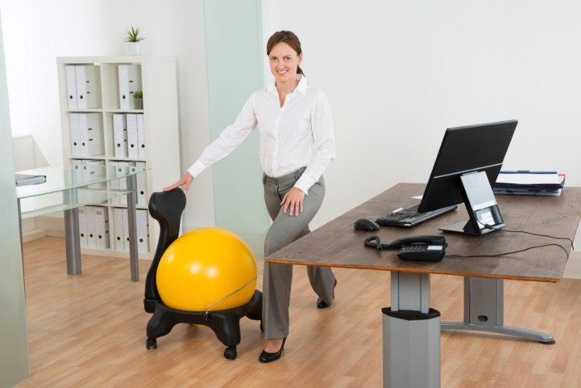 Kas sa tead, milliste väikeste asjadega saad tööpäevad tervislikumaks muuta?
