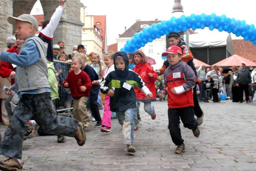 Eesti õpilased liiguvad muret tekitavalt vähe