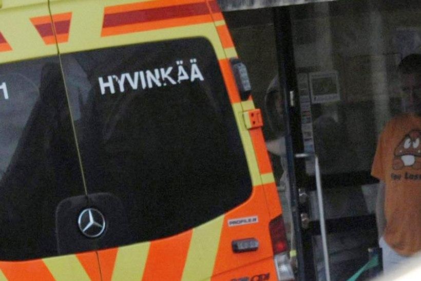 Soomes Hyvinkääs läks tänaval tulistamiseks