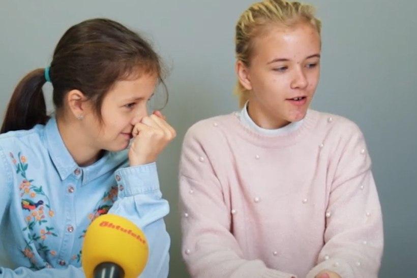 """ÕHTULEHE VIDEO I Lapsed 90ndate megahittidest: """"Selle lauluga võiks magama jääda!"""""""