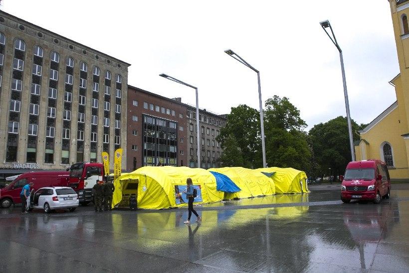 Tallinlasi kutsutakse Vabaduse väljakule doonoritelkidesse