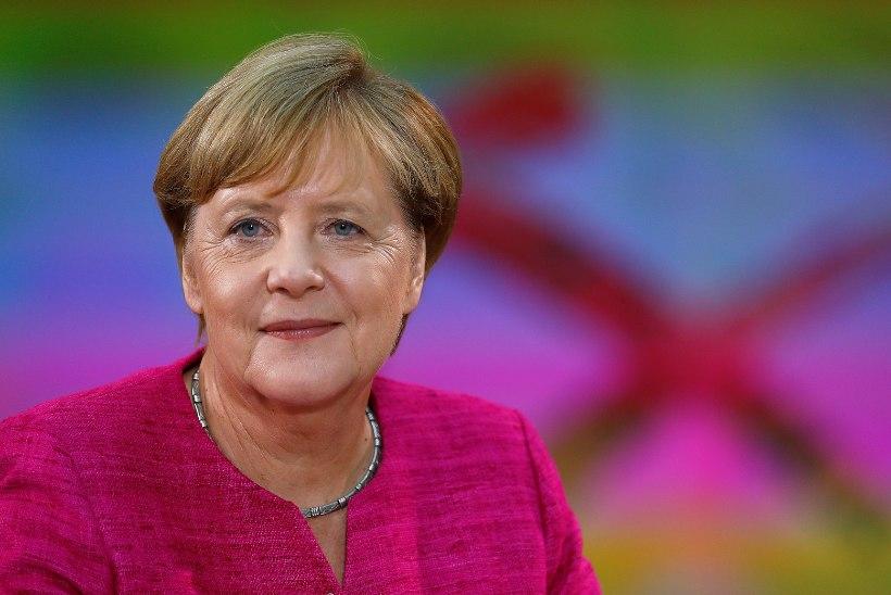 Liidukantsler Angela Merkel viga ei tunnista
