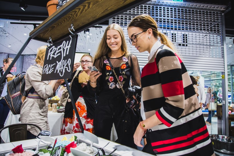 GALERII | Tuntud Suurbritannia ilubränd avas uue kaupluse Ülemiste keskuses