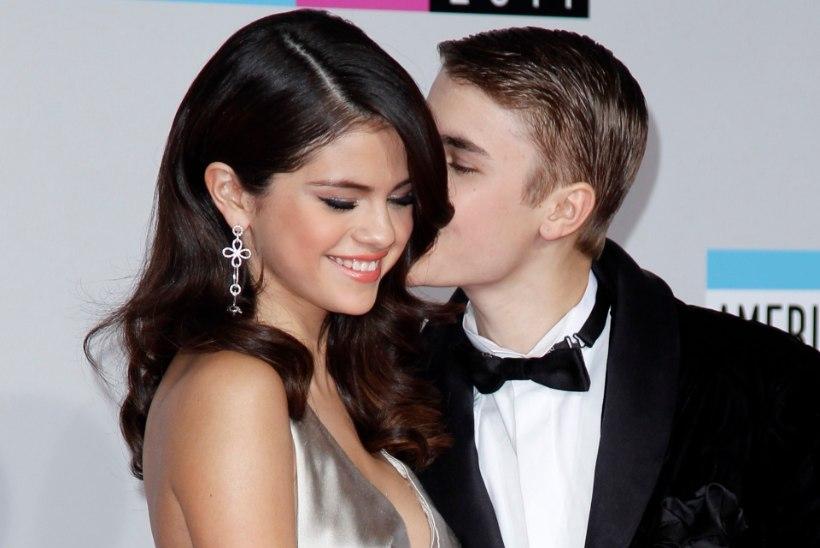 Paljas Bieber ilmus oma ekskallima Selena Gomezi Instagrami