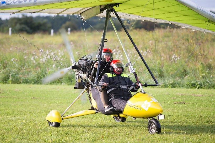 VIDEO | Kui ohtlik on lennata deltaplaaniga 150 meetri kõrgusel?