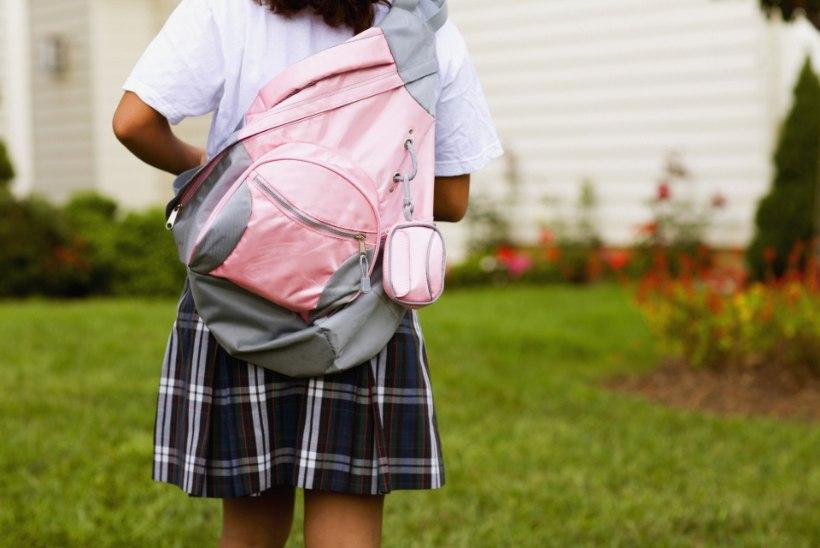 Lastekaitse liit: lapse tervise huvides püsigu koolikoti kogukaal lubatu piirides