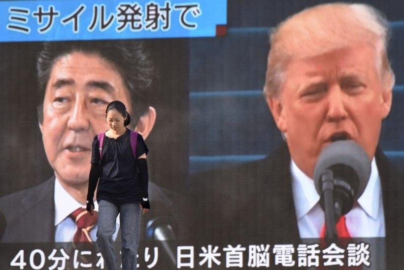 Jaapanlased on Põhja-Korea rünnakust hirmule aetud