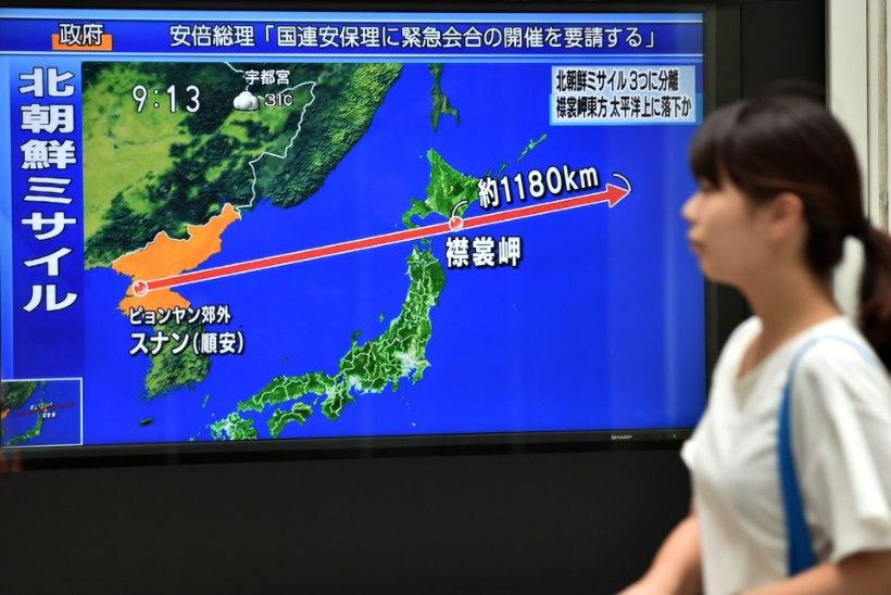 Põhja-Korea uus raketikatsetus külvas õudust