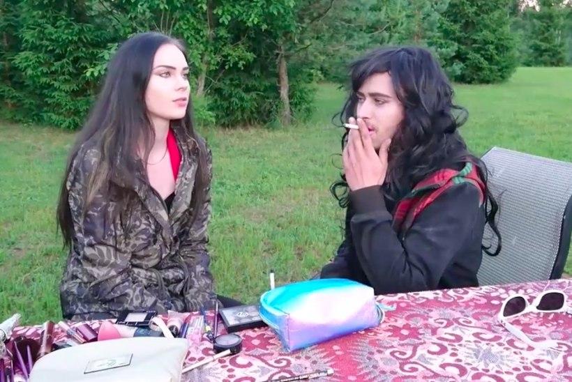 VIDEO | Helen muutis Kalvi-Kalle naiseks!