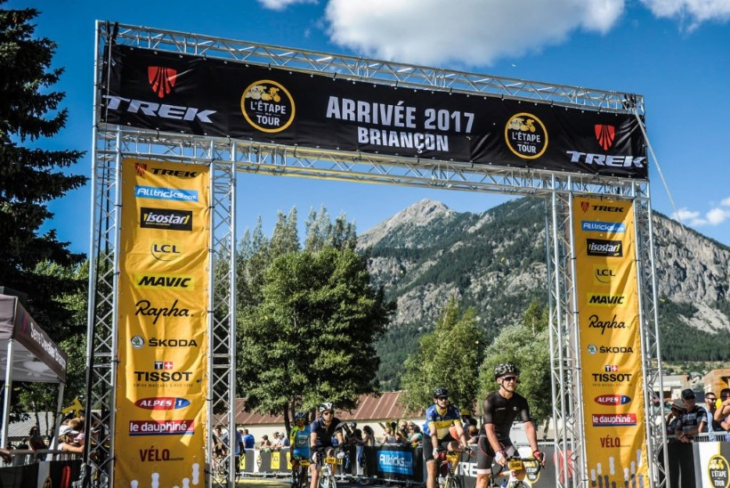 Triatleet Rando Kalli muljeid L'Étape du Tour'ilt!
