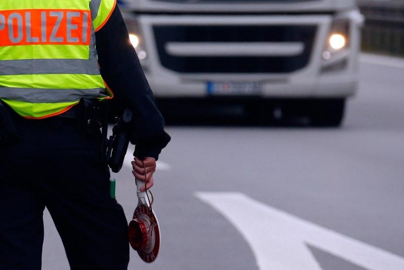 Järjekordne purjus Eesti veokijuht tegi Saksamaal pahandust