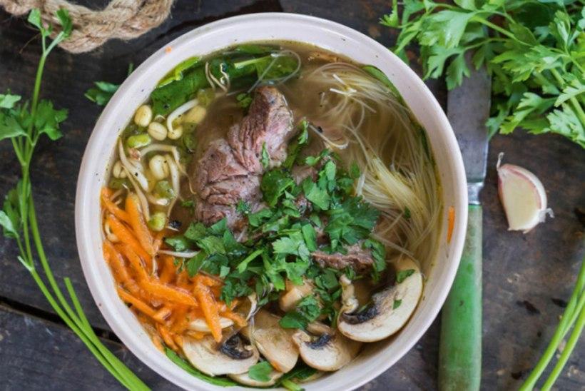 Vietnami lihasupp ehk pho bo