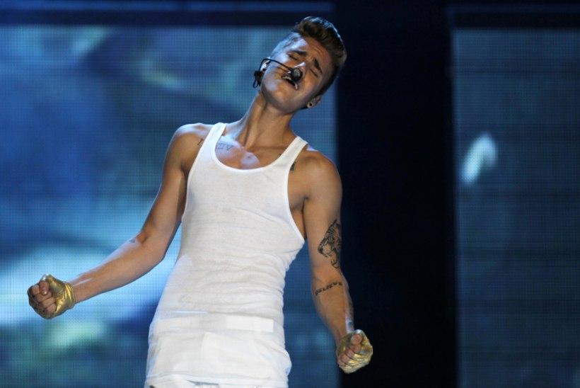 Justin Bieberi munanditest tuli paks pahandus