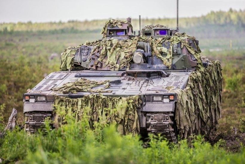 Eesti ehitab oma soomukeid 30 miljoni eest ümber