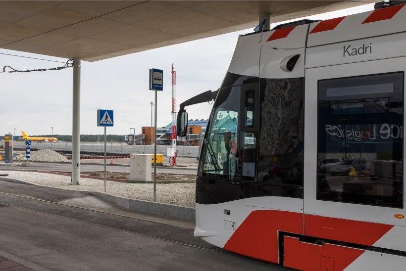 Rail Balticu esimene jupp valmis koos lennujaama viiva trammiteega
