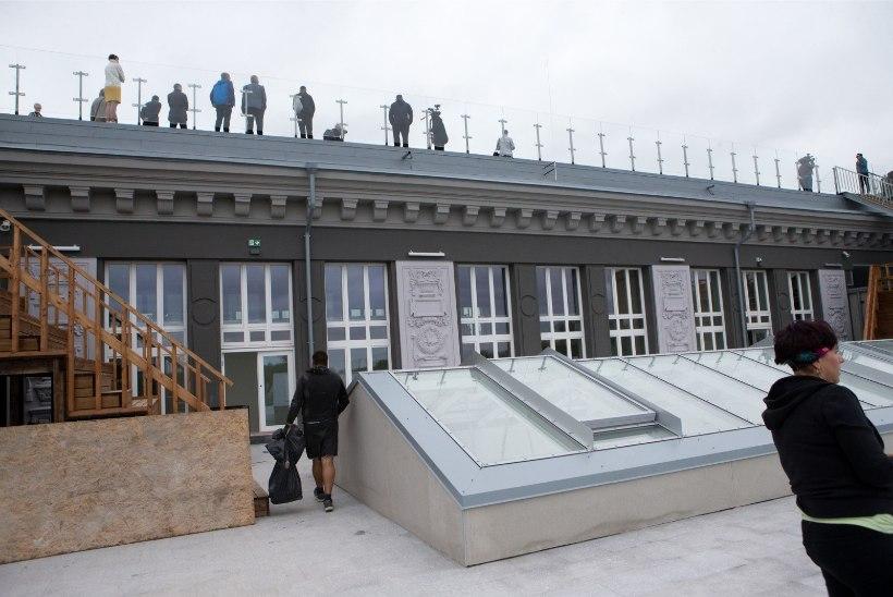 Gustav Adolfi uuele koolihoonele saab ka kopteriga maanduda!