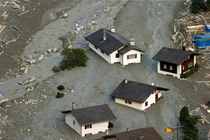 Alpikülasid ähvardavad enneolematud hiidlained ja rusuvoolud