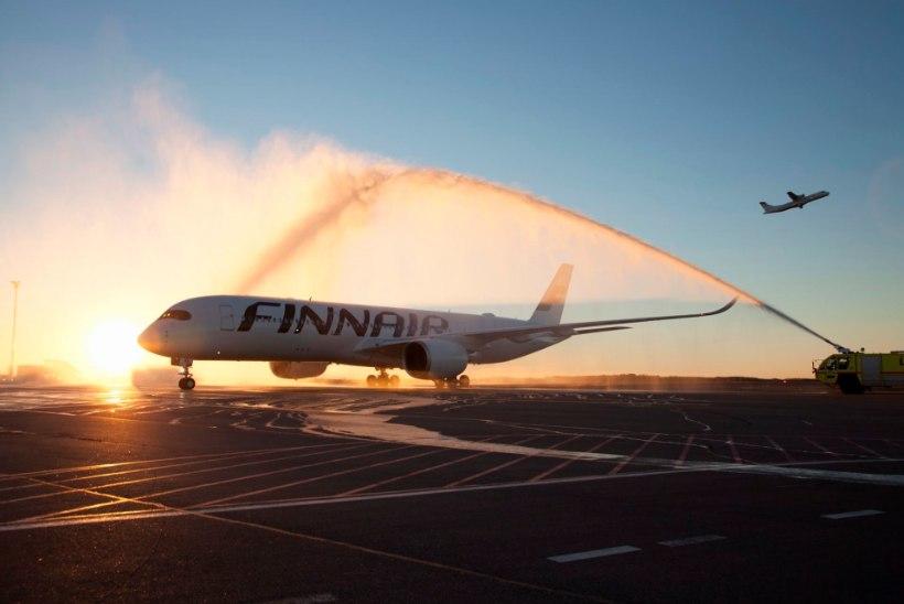 Finnairi Tallinna lendude arv kasvab 10 lennuni päevas