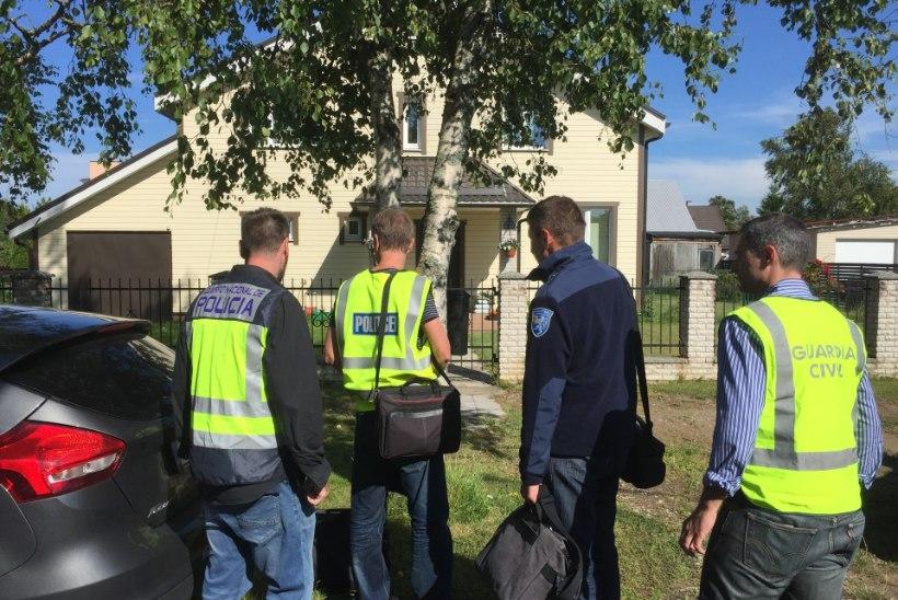 Hispaania ja Eesti ühises politseioperatsioonis peeti kinni neli inimest