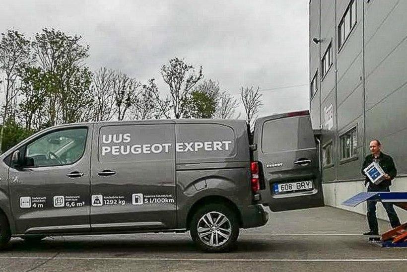 Peugeot Expert – veoautolikult asjalik, sõiduautolikult mugav