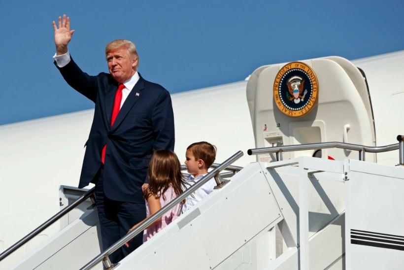 President Trump läheb puhkusele, kriitikud teritavad hambaid