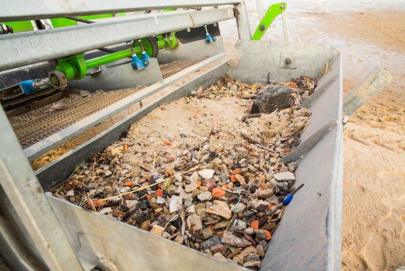 Puhaste supelrandade saladus: öised koristustööd ja kehv rannailm