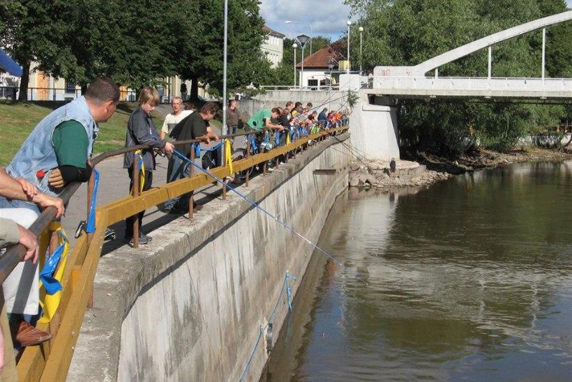 Tartu kalapüügivõistlus Heade võtete jõgi 2017 leiab aset 19. augustil