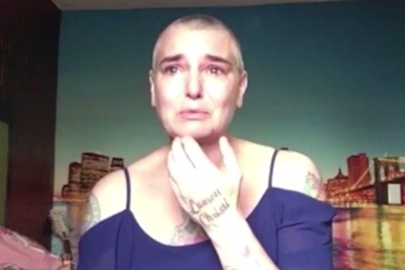 Depressioonis Sinéad O'Connor nutab videos: ärge visake meid haiglasse ja kaduge