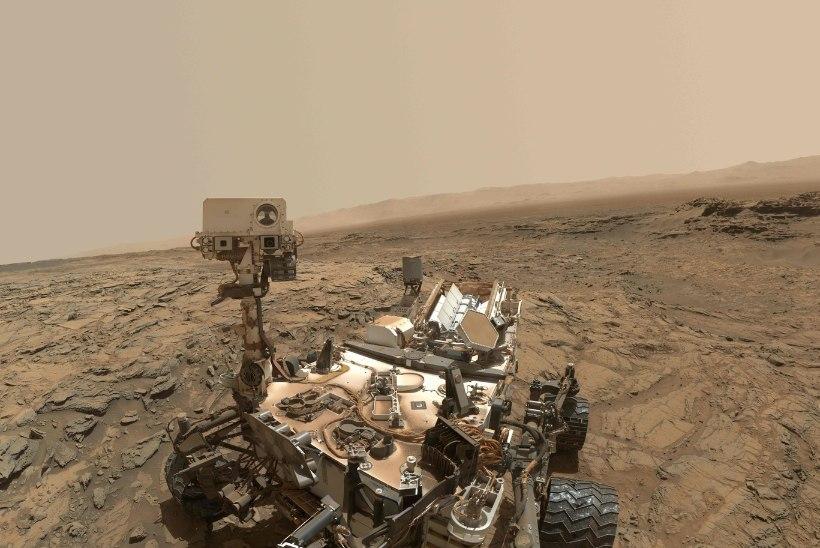 Marsikulgur Curiosity otsib kuuendat aastat maavälist elu