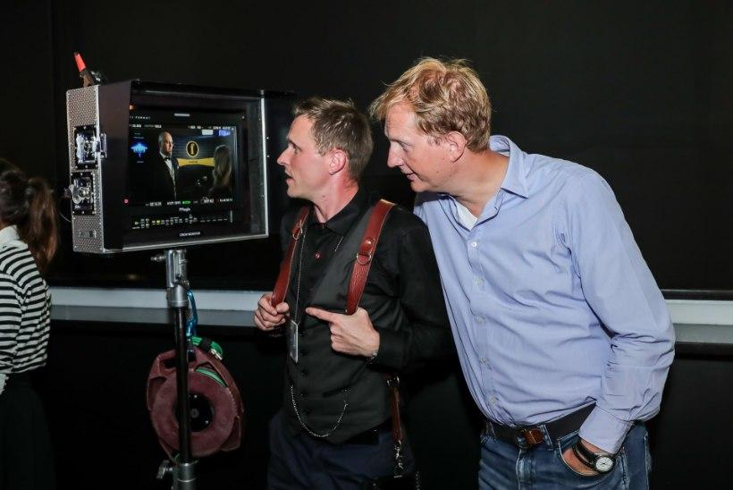 """Õhtulehe staarfotograaf Erlend Štaub sai filmis """"Klassikokkutulek"""" ägeda rolli"""
