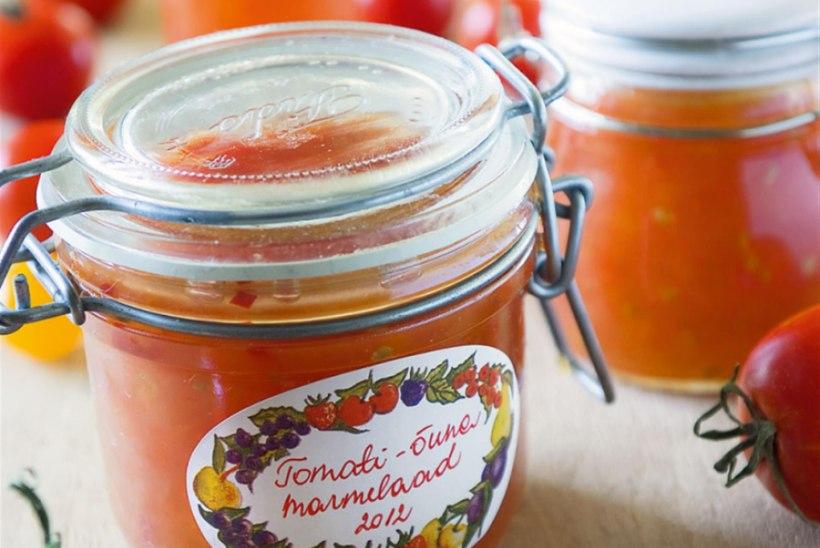 Tomati-õunamarmelaad tšilliga