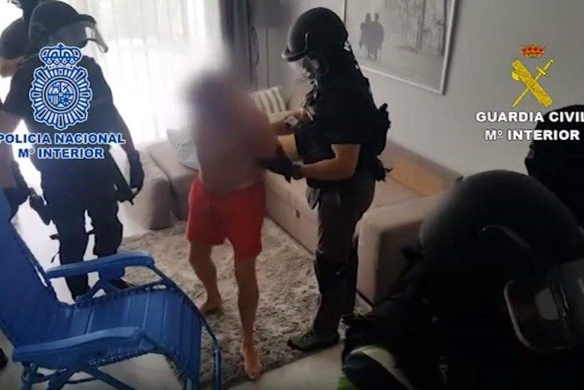 VIDEO | NAGU MÄRULIFILMIS: Málagas peeti Eestisse juuri ajava narkomaffia ristiisa kinni