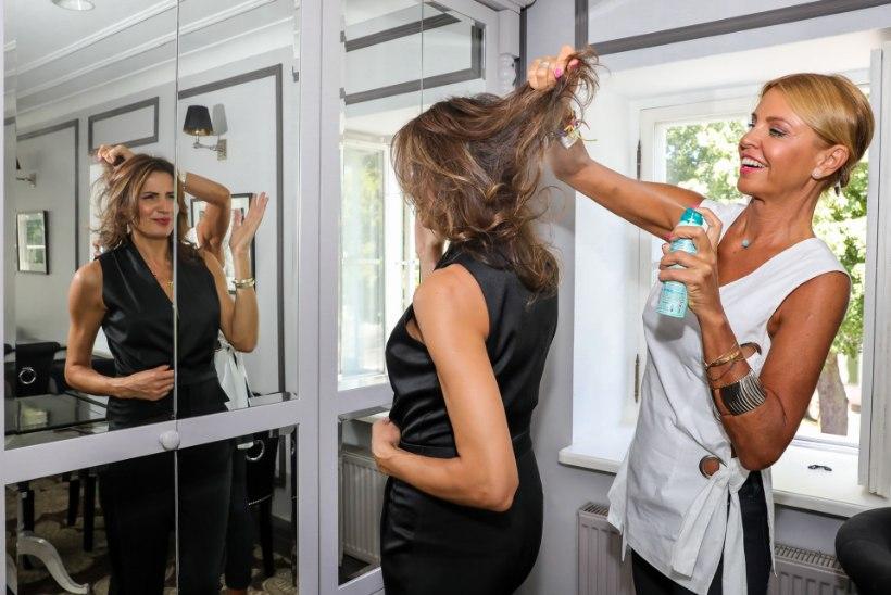 50 NIPPI | KÄHKU ILUSAKS: kiire tööle või pittu, aga juuksed on mustad!