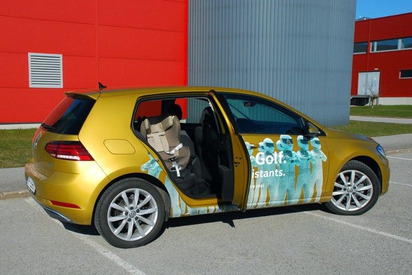 Sõidetud: õige väikese auto välimuse juurde naasnud Volkswagen Golf