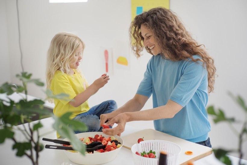 Kuus nutikat ideed lapsi rohkem salateid sööma meelitada