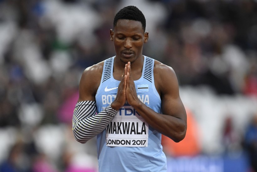 ÕL LONDONIS | GALERII: Olematu kõhuviiruse seljatanud Makwala murdis 200 m jooksus poolfinaali