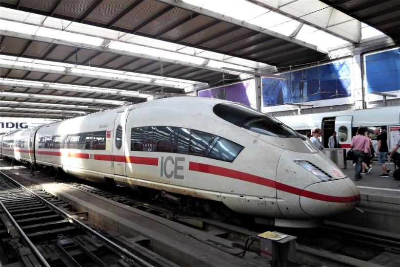 Saksa ajaleht Bild: terroristid võtavad rongid sihikule