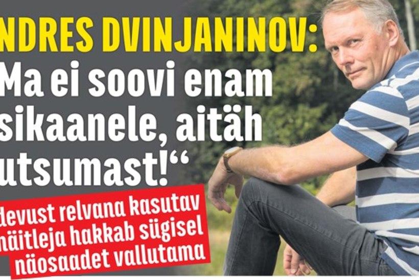 """""""Su nägu kõlab tuttavalt"""" 6. hooaja seitsmes osaleja on Andres Dvinjaninov!"""